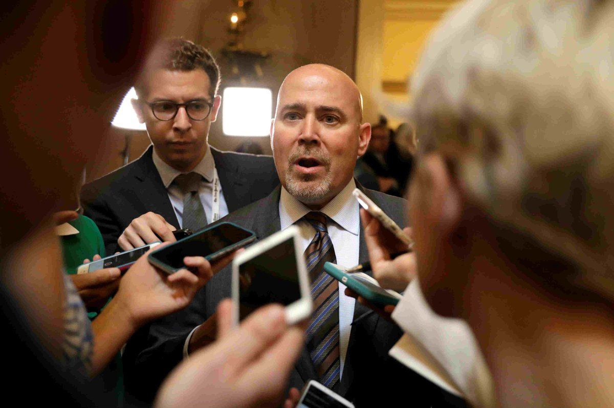 Republican Tom MacArthur faces furious town hall after his amendment to repeal Obamacare