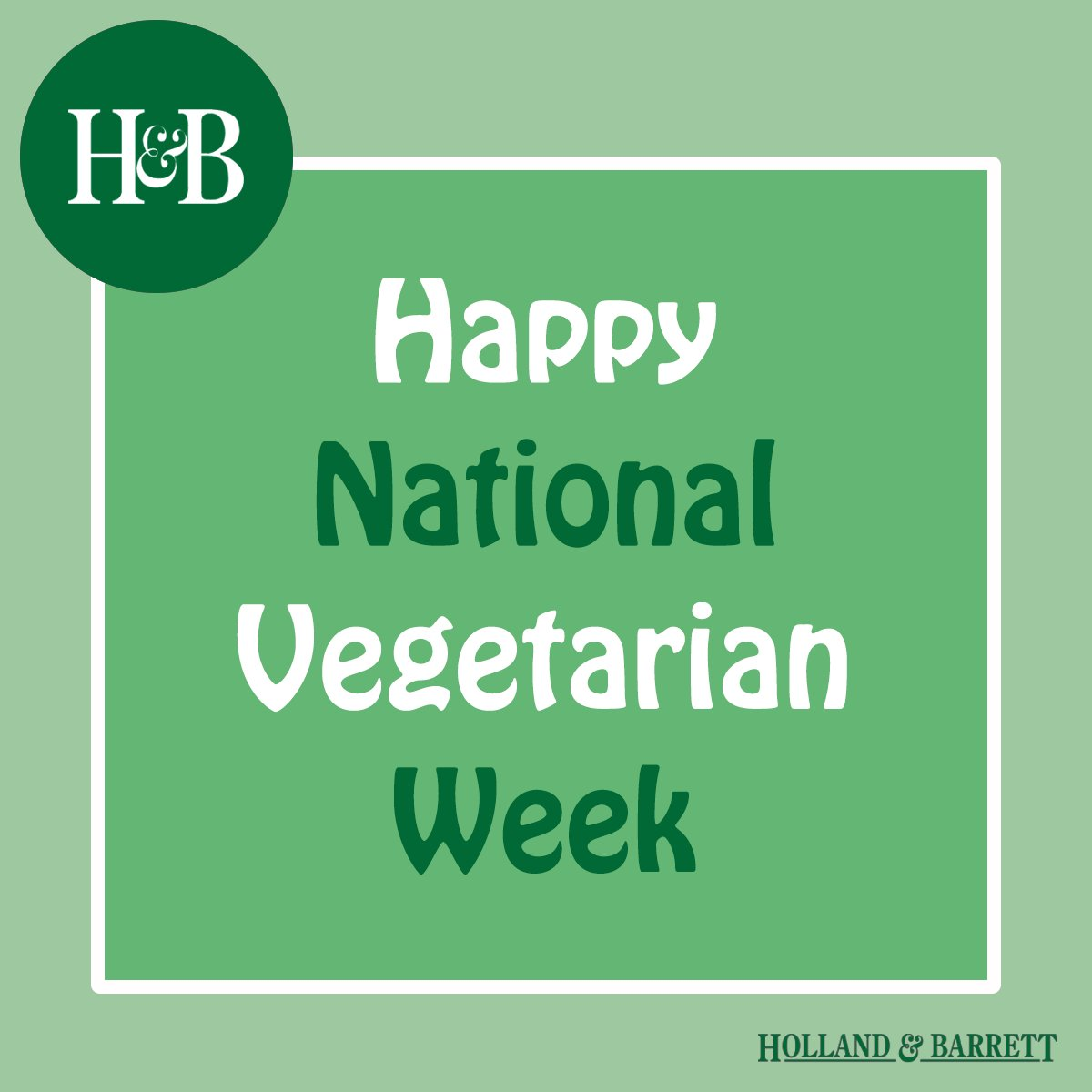 Happy #NationalVegetarianWeek. Stay tuned for delicious recipes, top product picks & more! 🍏🌱🍅 https://t.co/GCZV3REPEV