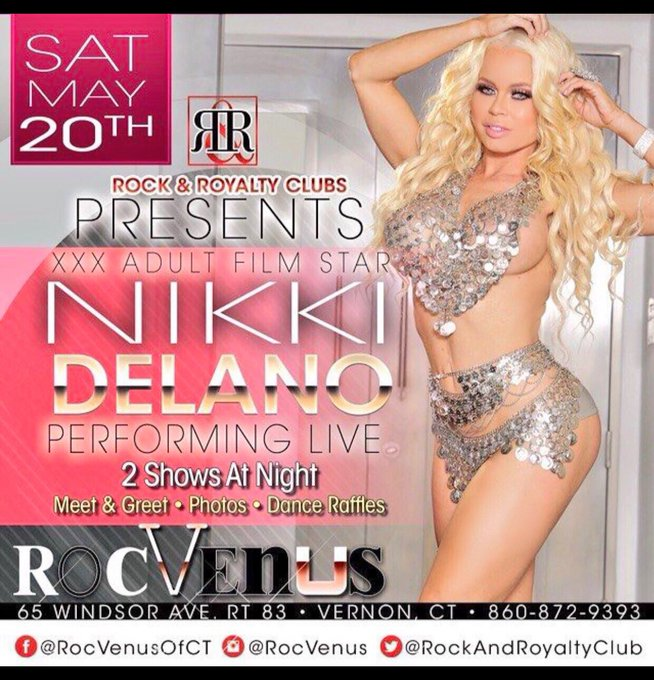 3 pic. Meet me live next weekend in Connecticut at @RockRoyaltyClub https://t.co/m5KhGUcmrR