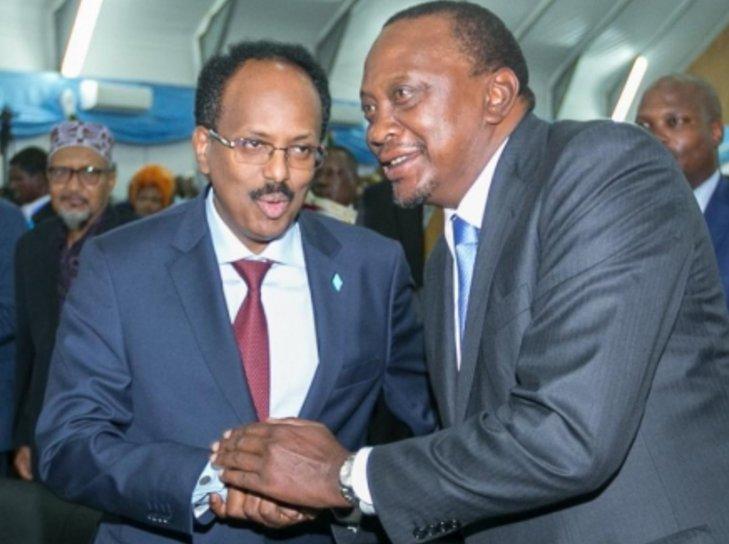 KDF to stay and pacify Somalia, says Uhuru Kenyatta