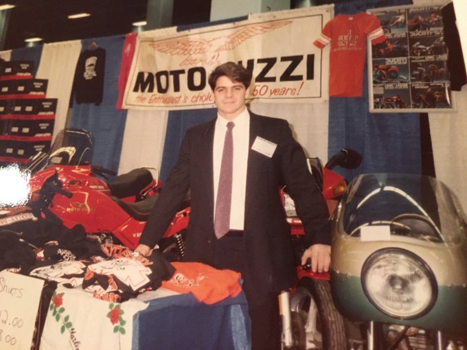 34 years ago selling bikes 4 my Uncle Sal. Happy 90th Birthday! As Billy Joel says only the good die young!