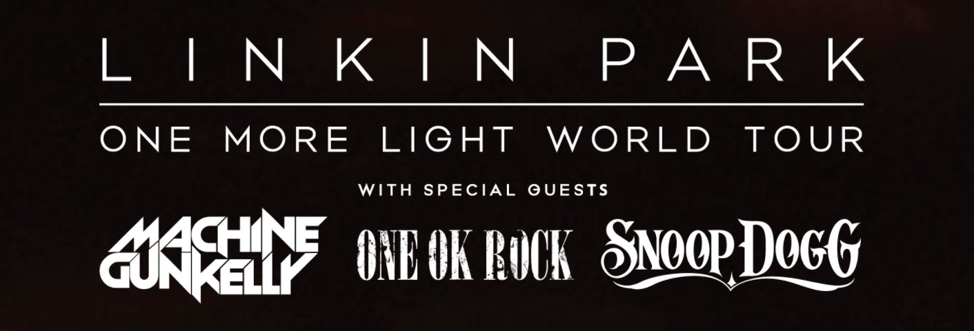Tickets on sale for the #OneMoreLight North American tour today. Times + full details: https://t.co/W6X9gbann7 https://t.co/xQPWxQHbit