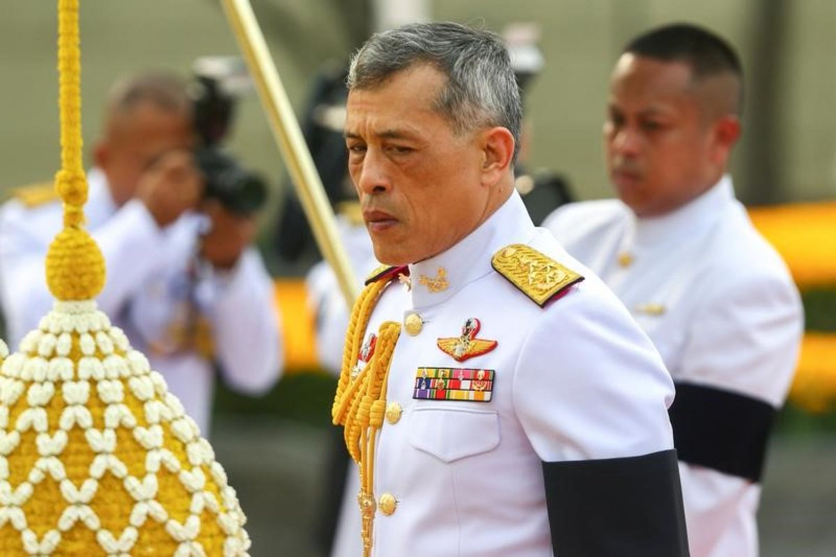 Thailand's new king watches as sacred oxen predict good harvest