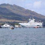 4-nation drills postponed after craft runs aground on Guam
