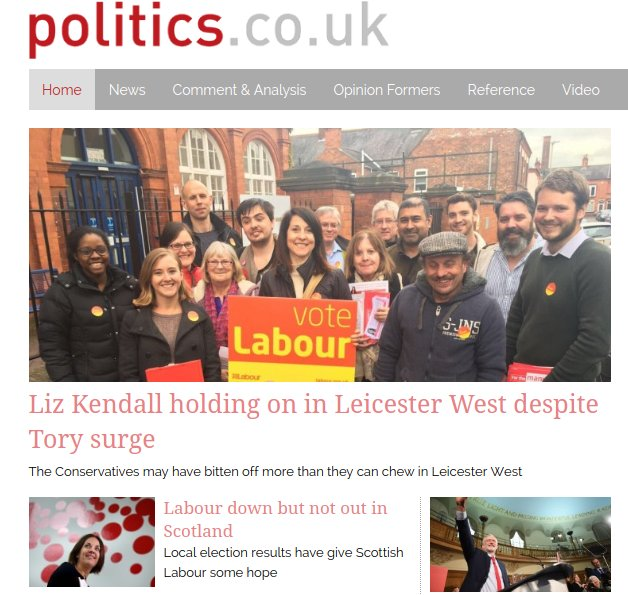 Overall, probably our most positive front page for Labour for some time https://t.co/CPjvuCFY6L https://t.co/1omiholuNS