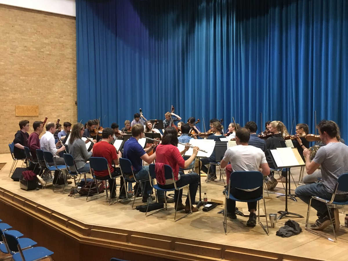 test Twitter Media - CUCO try out a different seating arrangement to rehearse Beethoven 6 and @JoyLisney's Thread of the Infinite #newmusic #newideas https://t.co/A0y6EhU1cI