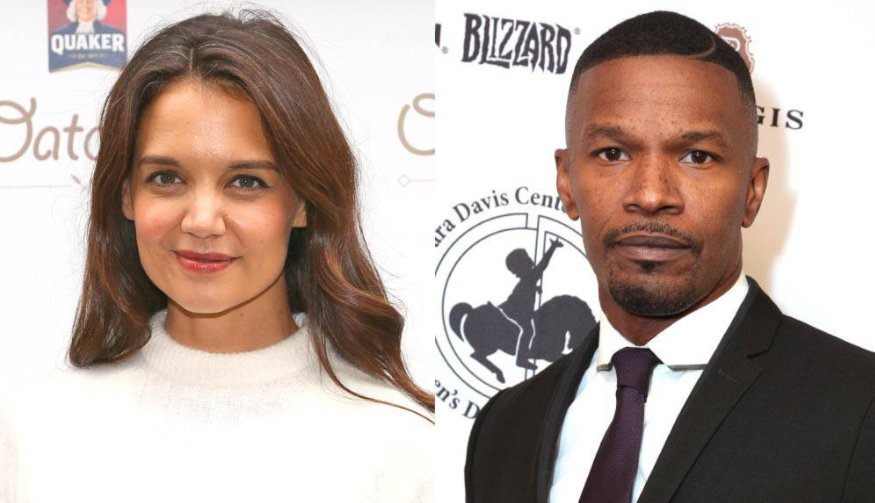 Katie Holmes and Jamie Foxx took a romantic trip to Paris while Tom Cruise filmed nearby: