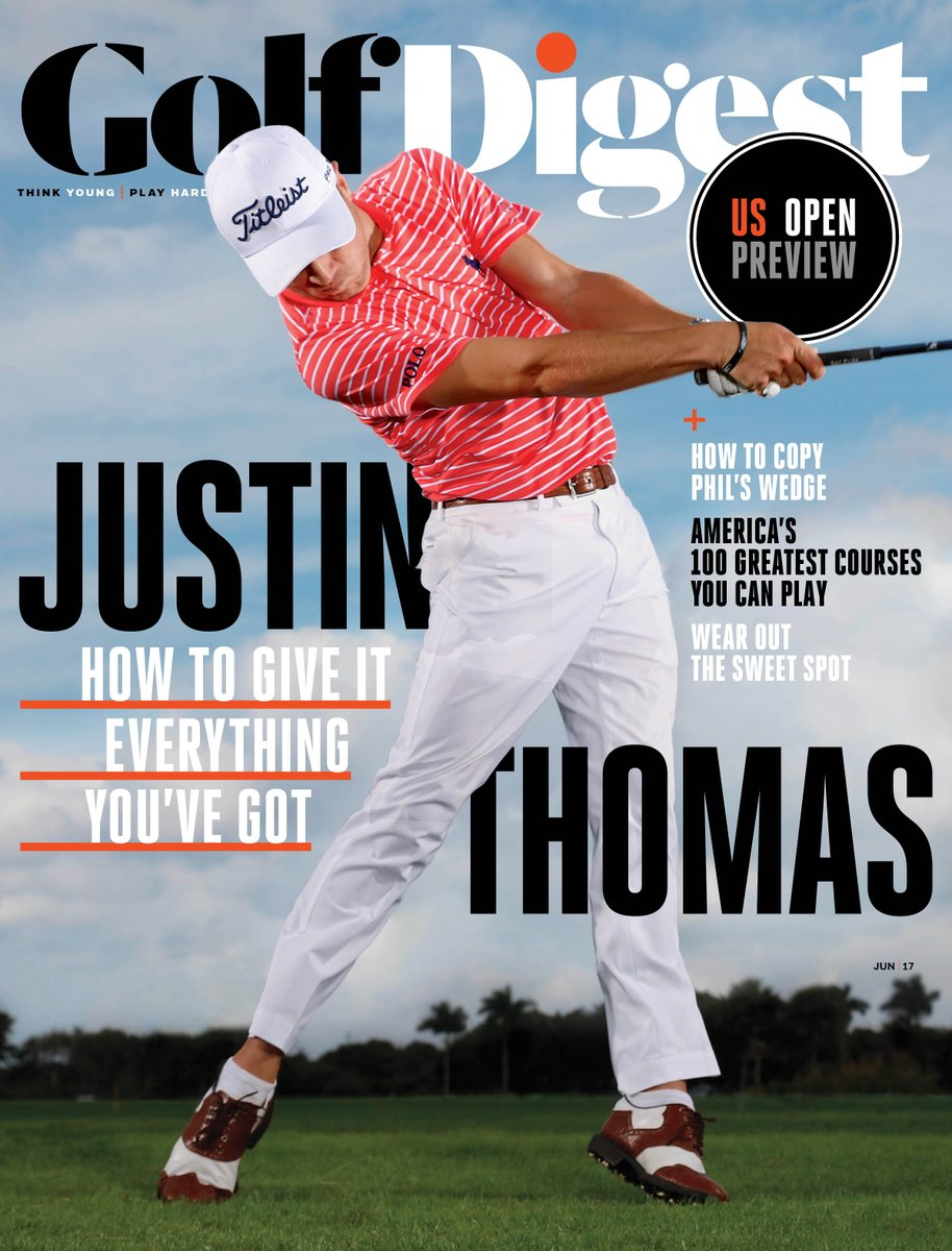 #PoloGolf ambassador @JustinThomas34 wears Ralph Lauren Golf on the June cover of @GolfDigest. https://t.co/AkElc2Ng2T