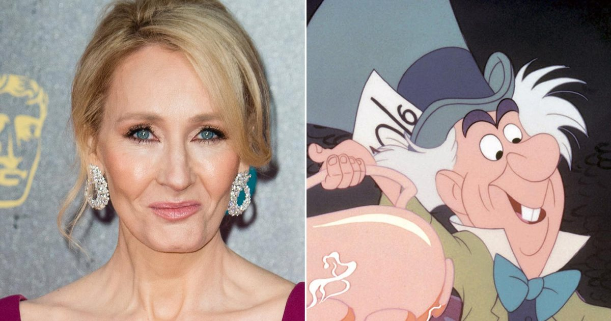 J.K. Rowling taunts Trump with 'Alice In Wonderland' quote: