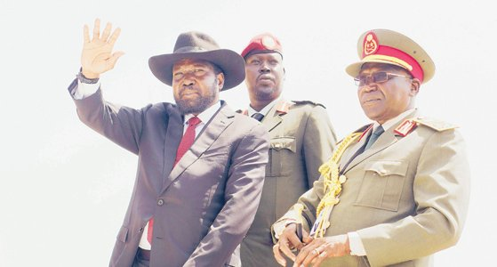 South Sudan's new army chief seeks funds for peace process