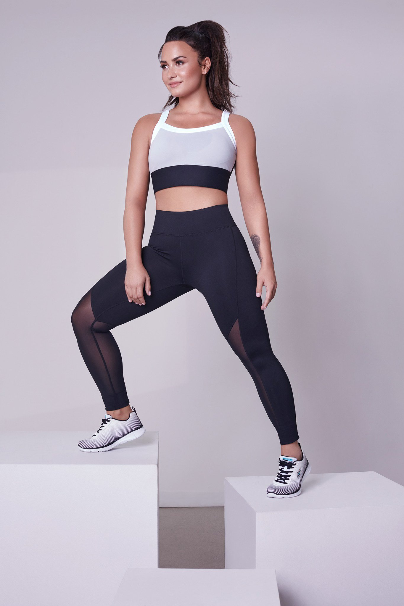 Getting so close to the launch!! #Demi4Fabletics @fabletics https://t.co/rD1v2tH7sQ https://t.co/WvzXUynaPz