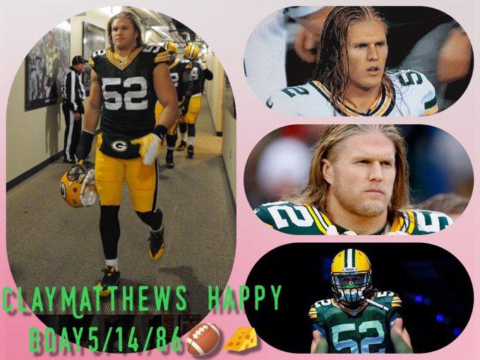 Happy Birthday to Clay Matthews