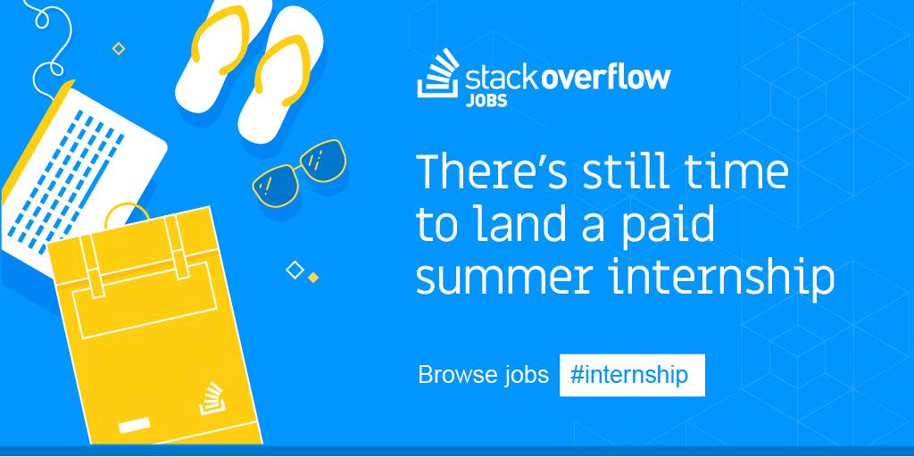 Paid #internships for comp sci majors are going fast! Browse jobs → https://t.co/kkaZmErKkt https://t.co/8cGGwlUhAY