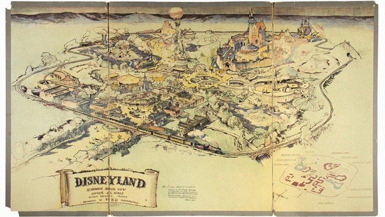 Walt Disney's Cinderella script, hand drawn Disneyland map to be auctioned