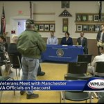 Veterans meet with Manchester VA officials in Greenland