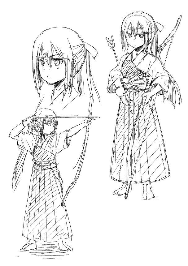そうか、弓塚さんは『ぺろわん!』の一子、『ハコネちゃん』の亜季の属性を受け継いだキャラクターなんだなと、過去作を思い返し