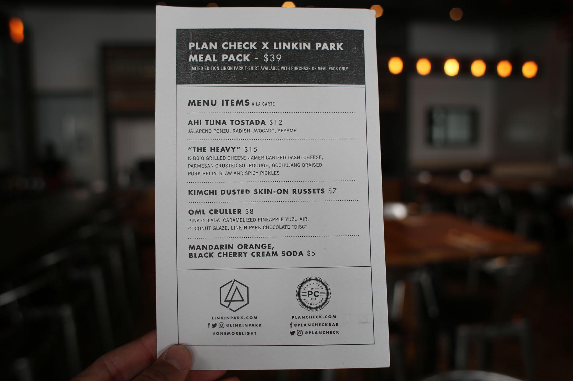 .@LinkinPark Has a Killer Meal Pack at @PlanCheck https://t.co/KiLI2azn4I https://t.co/HjAOFkOqJ0
