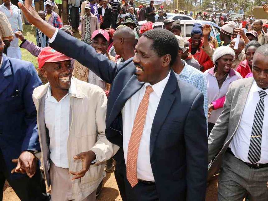 Will back Uhuru, I'm not in NASA, Munya tells Kiraitu to keep off