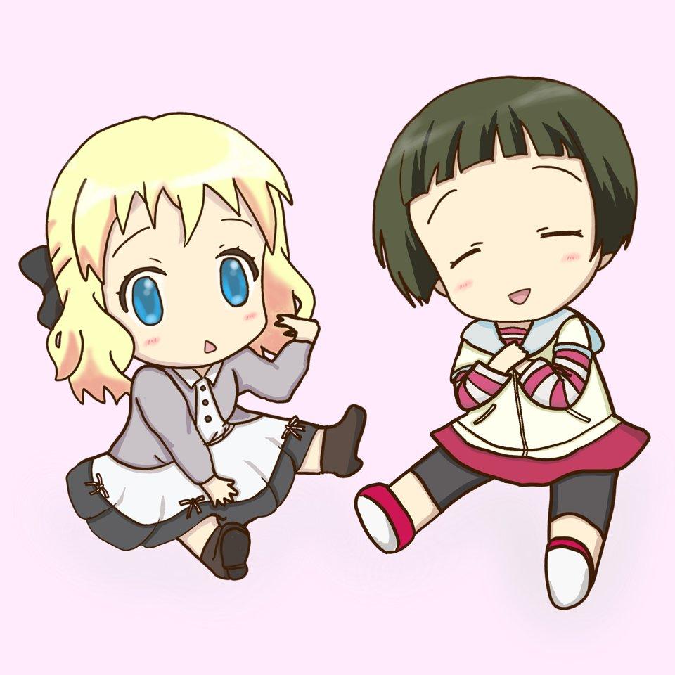 幼アリス&シノ#kinmosa