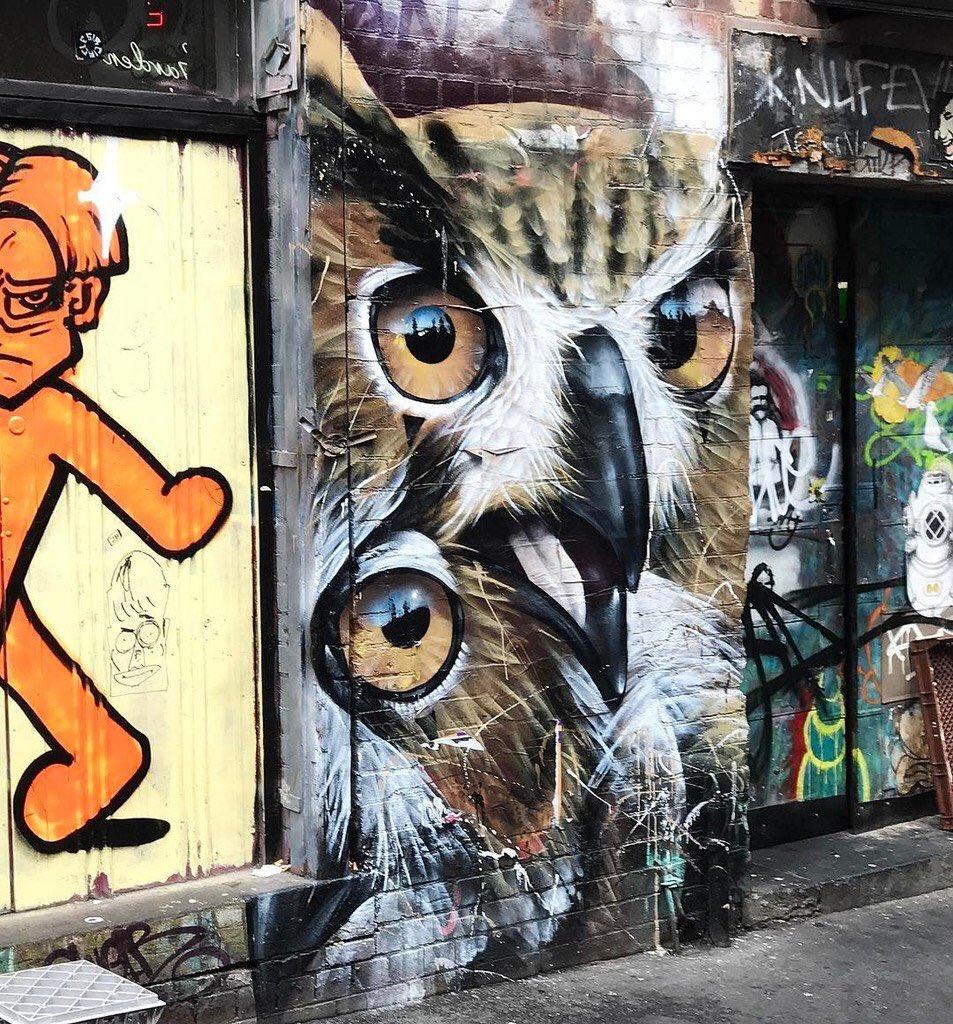 Flinders Street #Melbourne #Australia #Streetart #graffiti #art https://t.co/QrULaAJMrZ