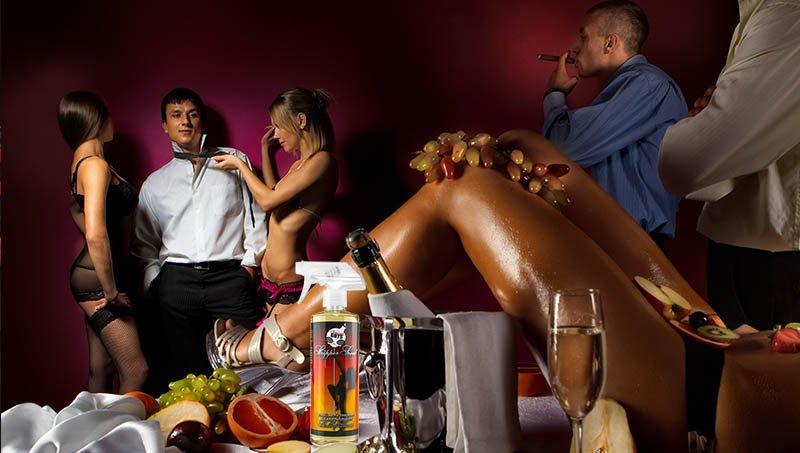 Развратные девицы устроили групповушку после вечеринки  455951