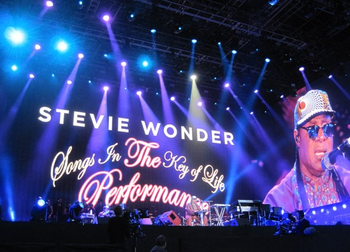 Happy Birthday Stevie Wonder...photo of mine from Hyde Park.
