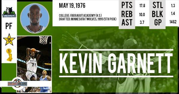 Happy Birthday Kevin Garnett !
