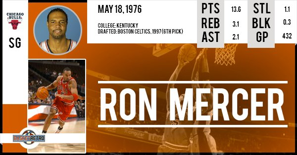 Happy Birthday Ron Mercer