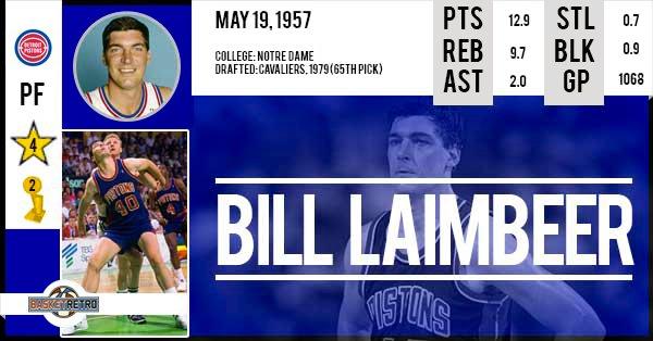 Happy Birthday Bill Laimbeer