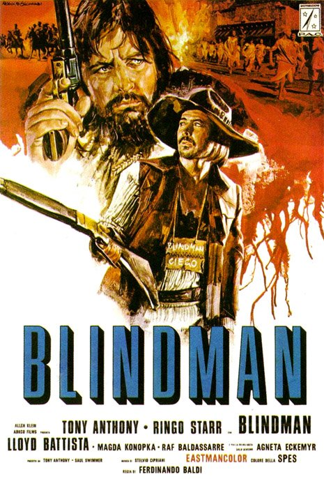 That time Ringo Starr was  second-billed in the 1971 Ferdinando Baldi spaghetti western Blindman. https://t.co/ywxX6hhbjK