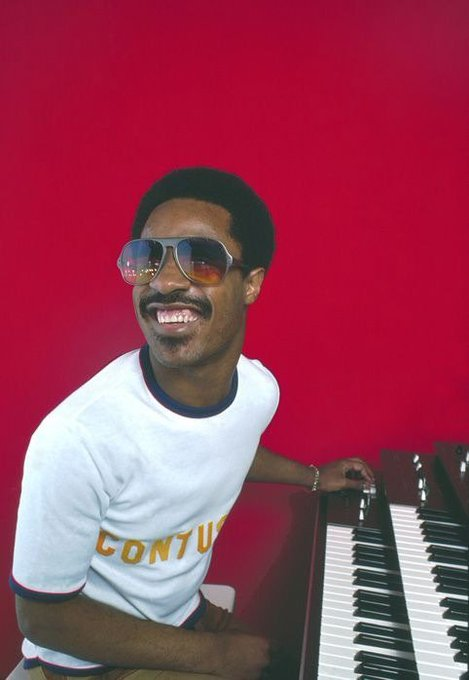 Happy Birthday to this legend!  The one and only Stevie Wonder turns 67 today!