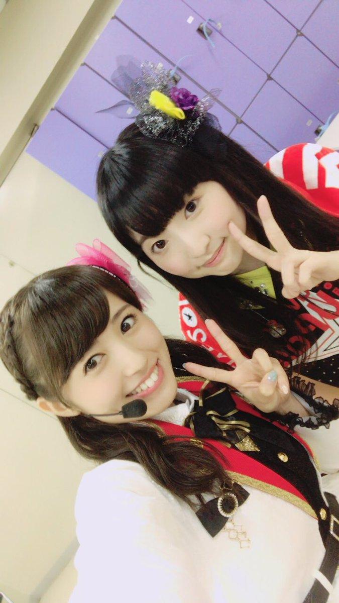 Wake Up, Girls!の田中美海さんと、、♫WUGさんとは初共演だったのですが、皆さんとても優しくて可愛くて、す