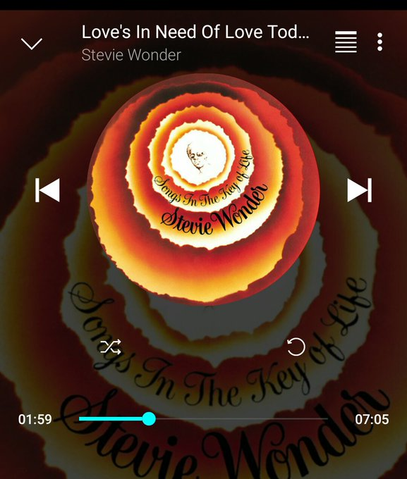 Love\s in need...of love today. Don\t delay...send yours in right away. Happy birthday, Mr. Stevie Wonder.