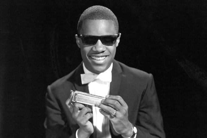 Happy 67th birthday to Stevie Wonder. Real musician right here.