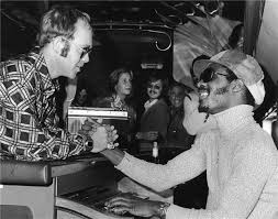 Happy Birthday to the Stevie Wonder born in Michigan  Pic with Elton John