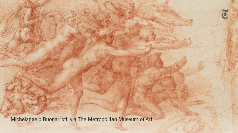 The Met will present the largest exhibition of Michelangelo works in its history this fall https://t.co/tUcghsp6Fg https://t.co/2GmniOnYkC