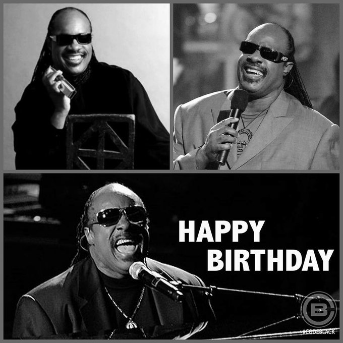 Happy Birthday to my musical hero Stevie Wonder!!!!!