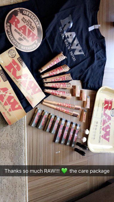 Huge Thanks to @RAWLIFE247 for keeping me lifted 🙌💚 https://t.co/jYw0pJYCib