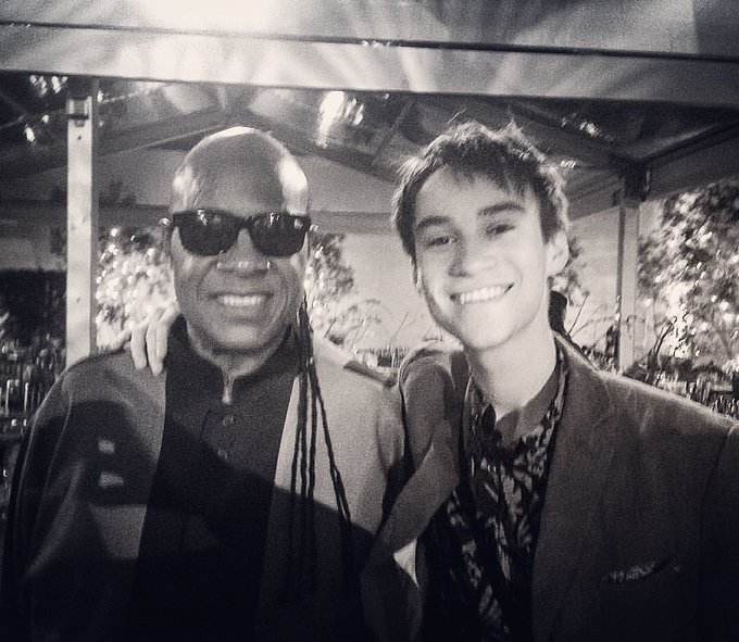 Happy birthday to the greatest ever - Stevie Wonder!