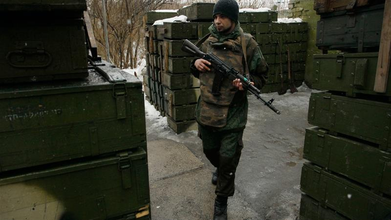 Four civilians killed in Ukraine artillery shelling