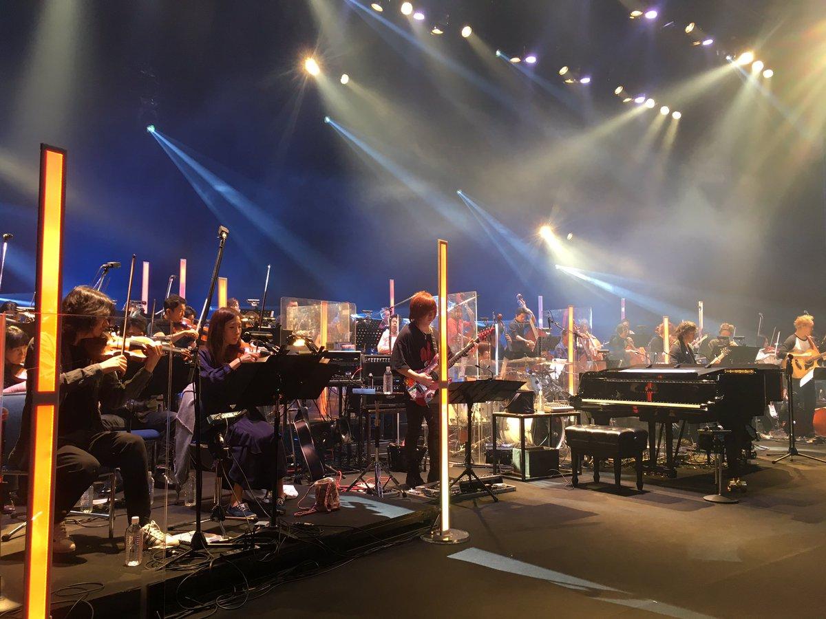 本日もLIVE【emU】です!夜公演のプログラムでは「機動戦士ガンダムUC」メドレーを演奏予定です。UCのサントラ楽曲を