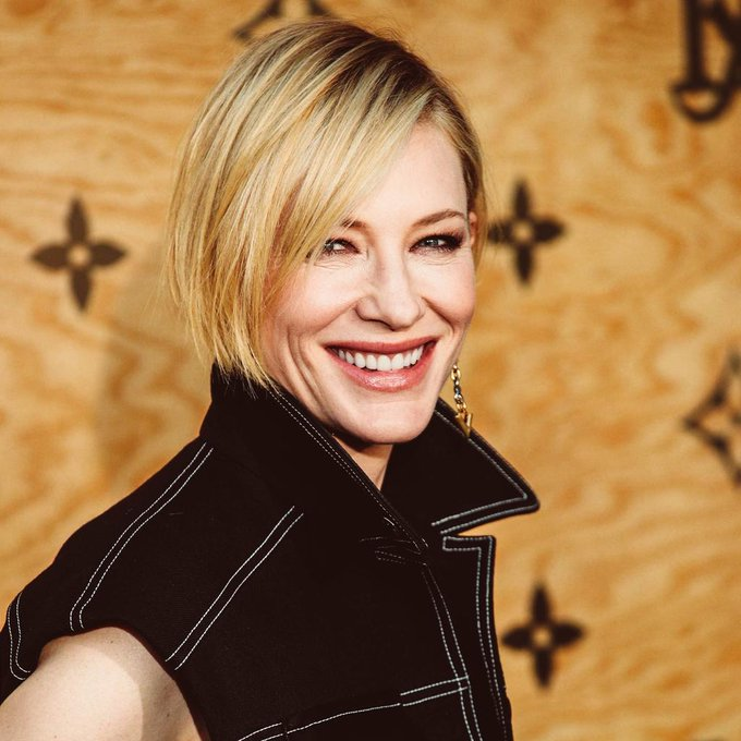 Happy 48th birthday, Cate Blanchett!