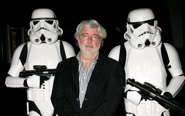 Happy Birthday, George Lucas!  Watching all seven Star Wars movies is a good way to celebrate, right?