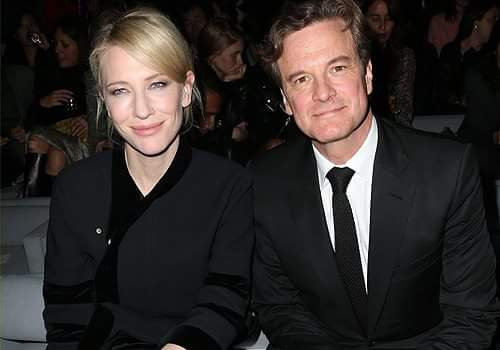 "COLIN FIRTH ADDICTED HAPPY BIRTHDAY, ""CATE BLANCHETT\"" ^^"