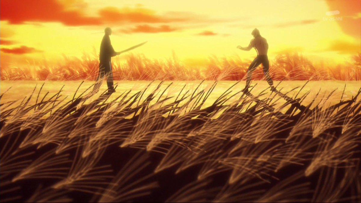 『タイガーマスクW』31話。「すすき野原は銀の色」「夕陽を受けて指笛吹けば」な画面にうっとり……。シメは『仕事屋』だもん