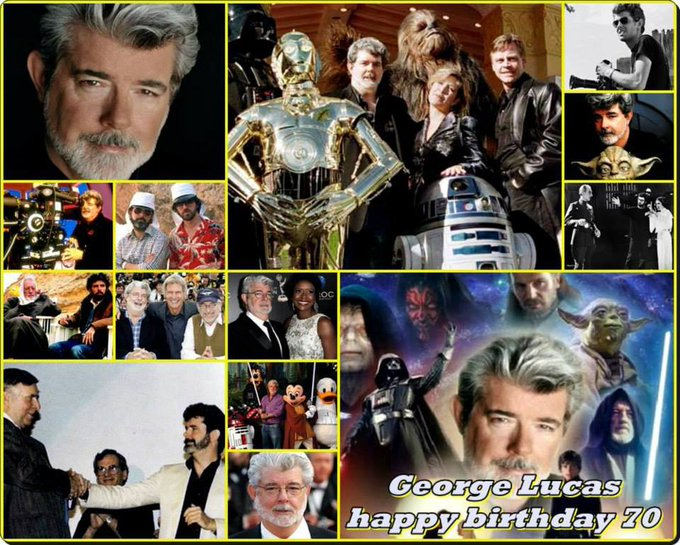 5-14 Happy birthday to George Lucas.