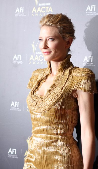 Happy birthday to Australian actress and theatre director, Cate Blanchett!