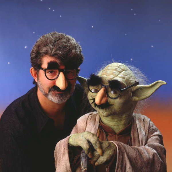 Happy Birthday George Lucas! Here s our favourite ever photo of the Star Wars creator.