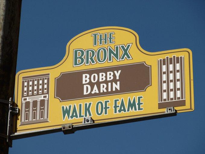 Happy Birthday 2004 Bronx Walk of Fame Inductee Bobby Darin!