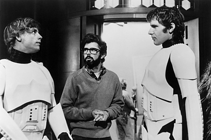 Happy Birthday to GEORGE LUCAS!